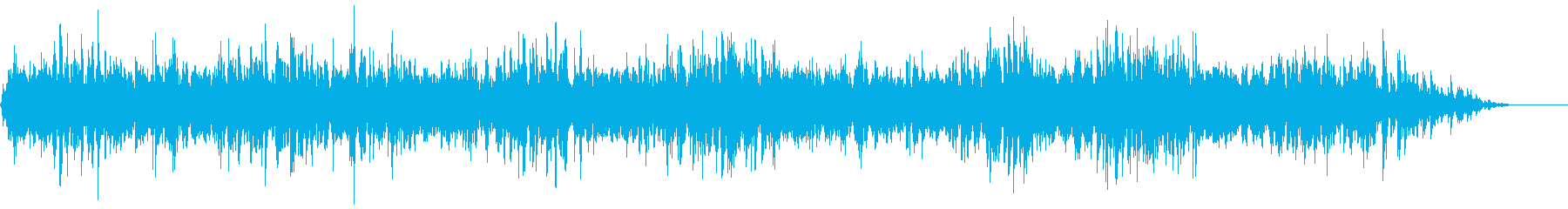 背景音 ホラー 13の再生済みの波形