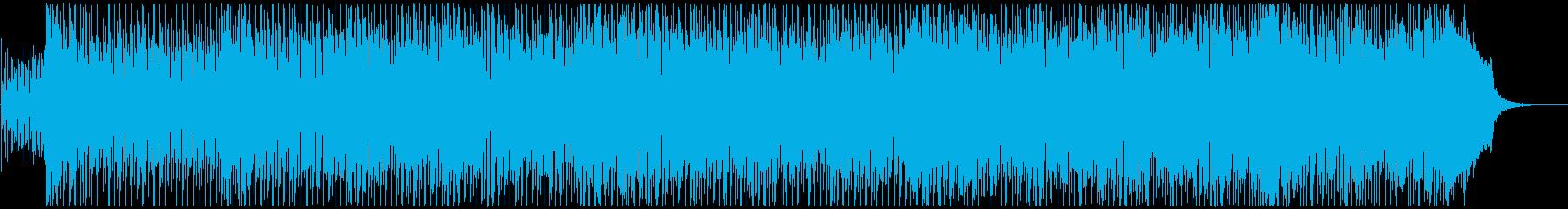 キラキラとポップで爽やかなテクノポップの再生済みの波形