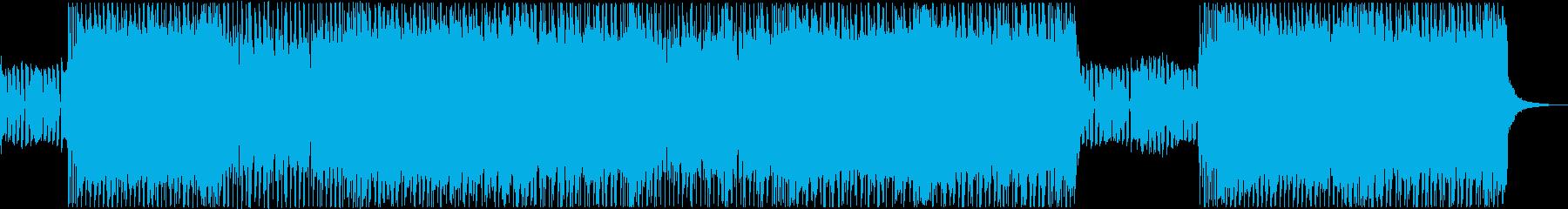 ミッドテンポブルースのメタル/ロッ...の再生済みの波形