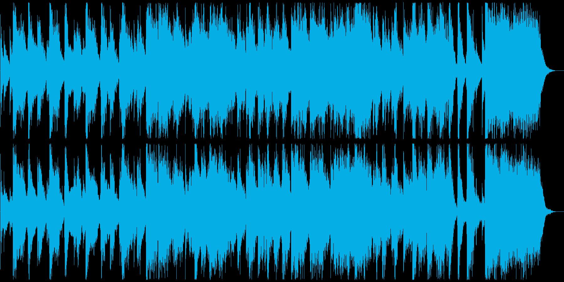 ゴージャスな雰囲気のビッグバンドジングルの再生済みの波形