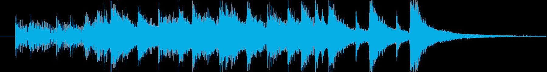 ファンク おしゃれ 燃える テクノ...の再生済みの波形