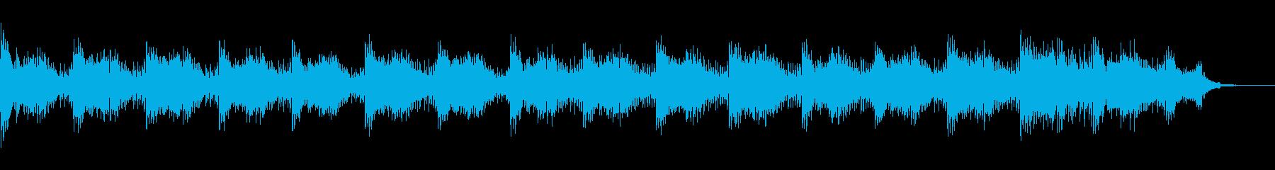 爽やかなピアノ&シンセ〜アパレル(CM)の再生済みの波形