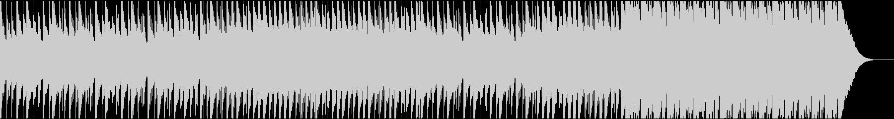 声素材なし版 無機質なミニマルトラックの未再生の波形