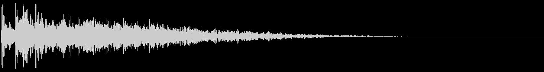 CINEMATIC FX_物音の未再生の波形