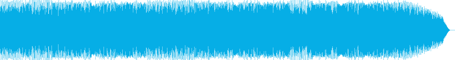 懐かしい思い出を味わえる楽曲の再生済みの波形