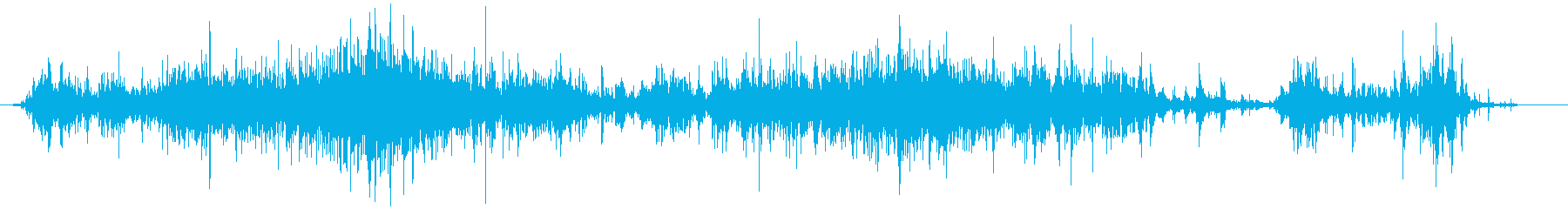 [Environmental sound] 24 Strong water sound's reproduced waveform