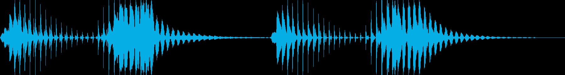 プニョプニョの再生済みの波形