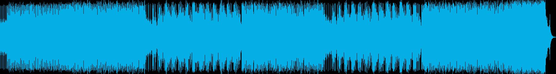 ハンドパンをメインの幻想的な曲です。の再生済みの波形