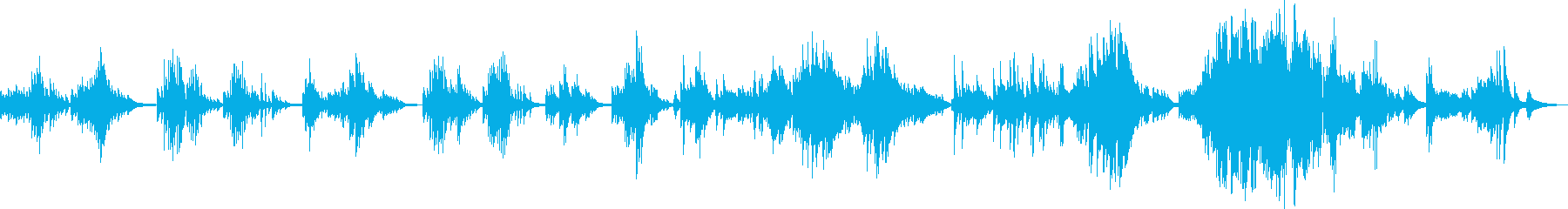 Irreparable mistake (piano solo song)'s reproduced waveform