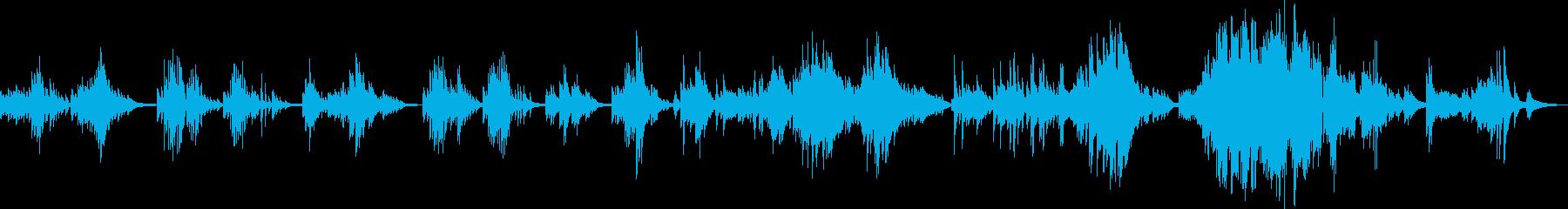 取返しのつかない過ち(ピアノソロ曲)の再生済みの波形
