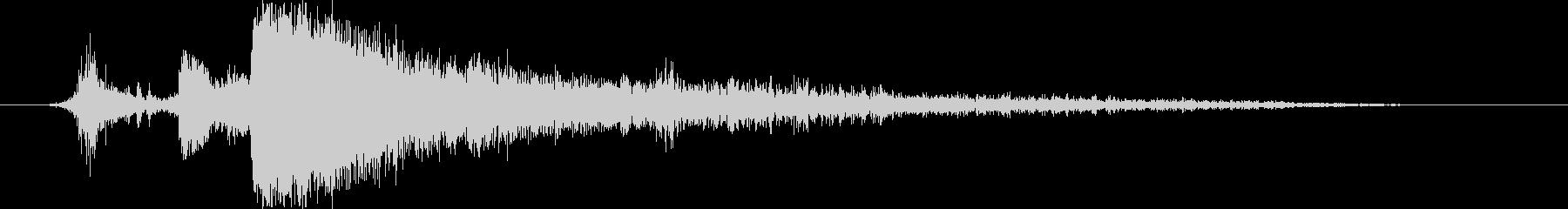 サンダークラップ6-ヘビー、ロングテールの未再生の波形