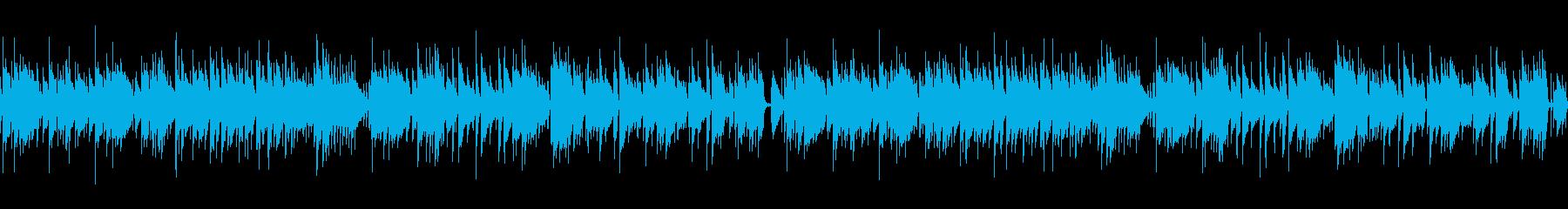 【ギター&パーカッションのみ・ループ】の再生済みの波形