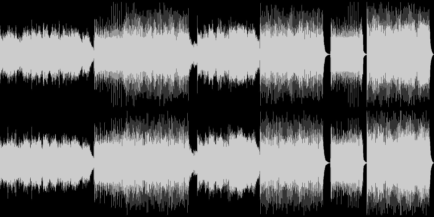 フェスのオープニングで流れるEDMの未再生の波形
