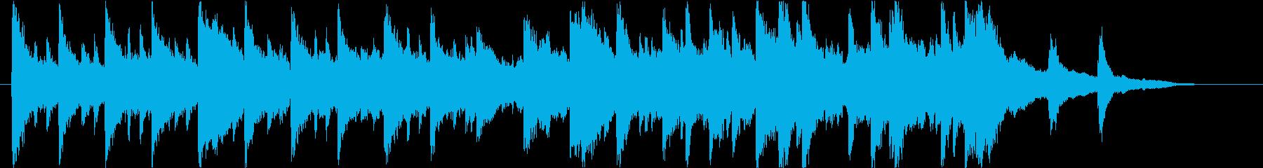 短めのしっとりしたピアノ曲です。の再生済みの波形