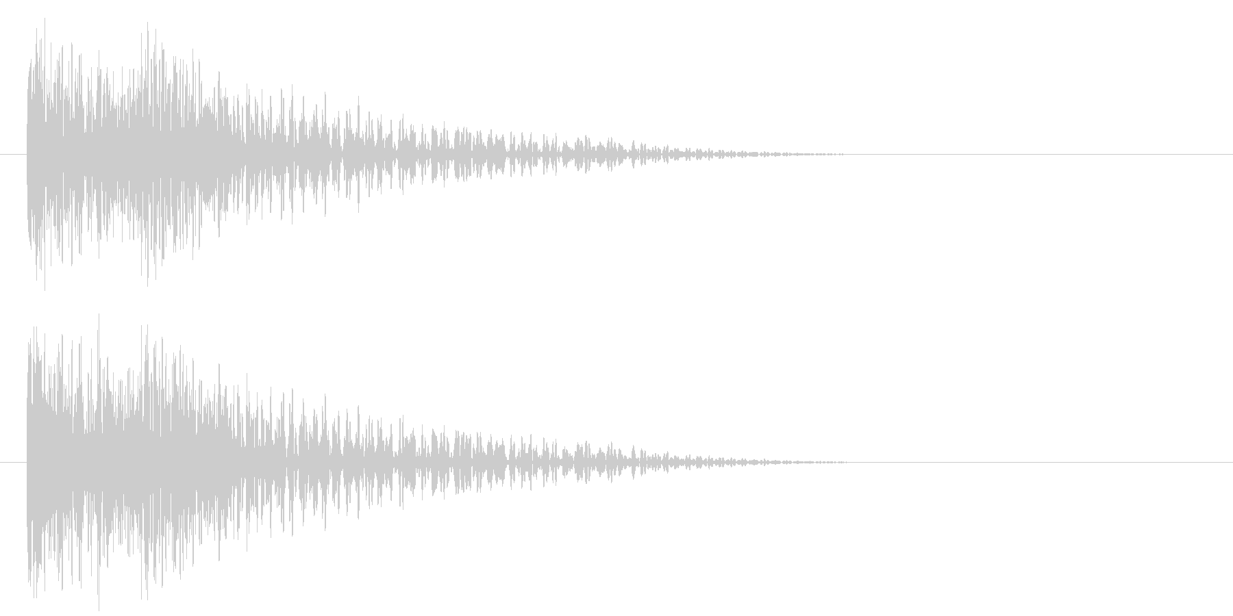 ドーン(映画予告・トレーラー・衝撃など)の未再生の波形