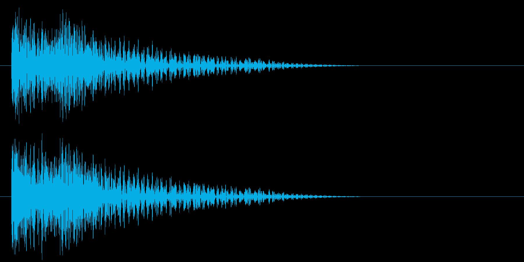 ドーン(映画予告・トレーラー・衝撃など)の再生済みの波形