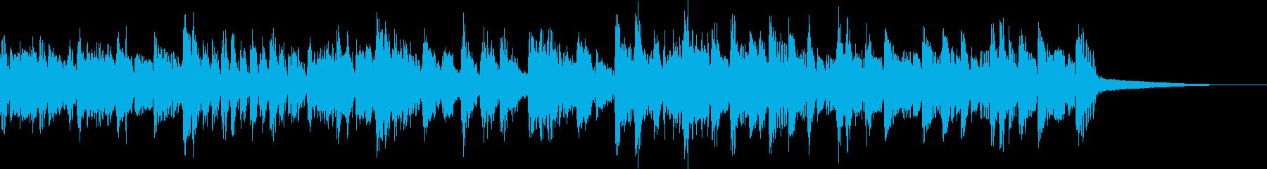 オルガンが印象的なポップなジングルの再生済みの波形