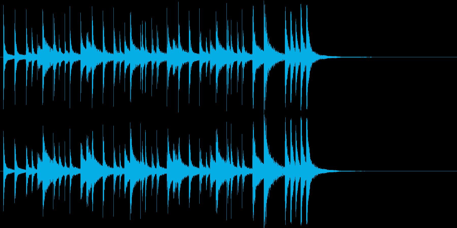 漫画アクセント:ウィッカワッカ:A...の再生済みの波形