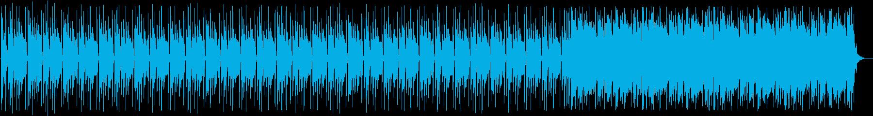 軽快な4つ打ちハウス_No583_2の再生済みの波形