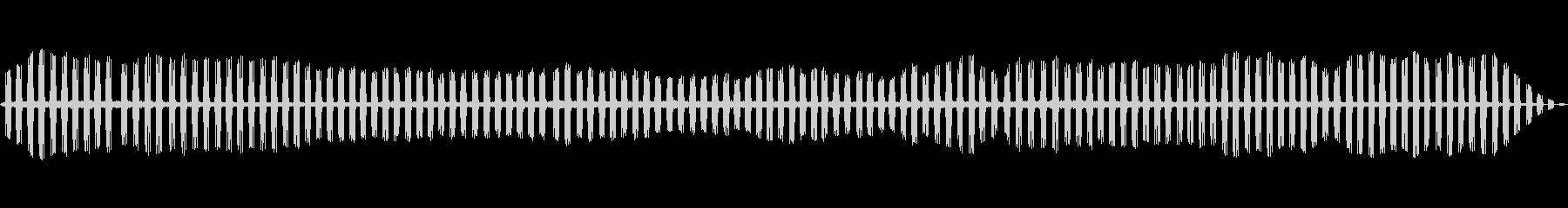 CICADAS、CRICKETS、...の未再生の波形