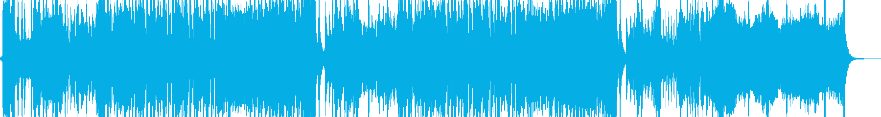 エンカウントバトルを想定したBGMの再生済みの波形