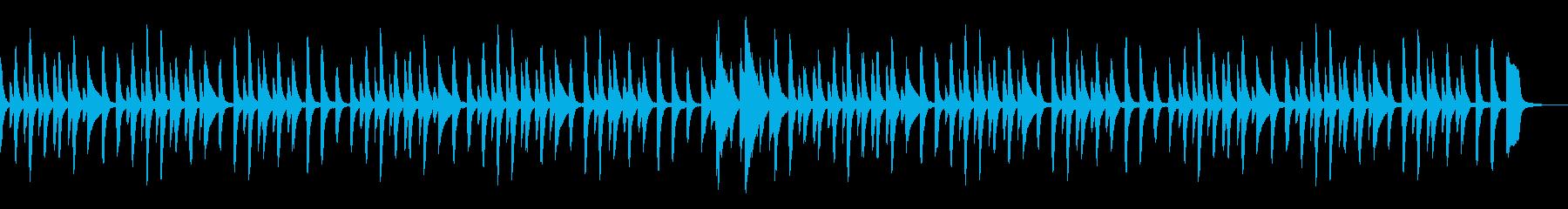童謡「あめふり」シンプルなピアノソロの再生済みの波形