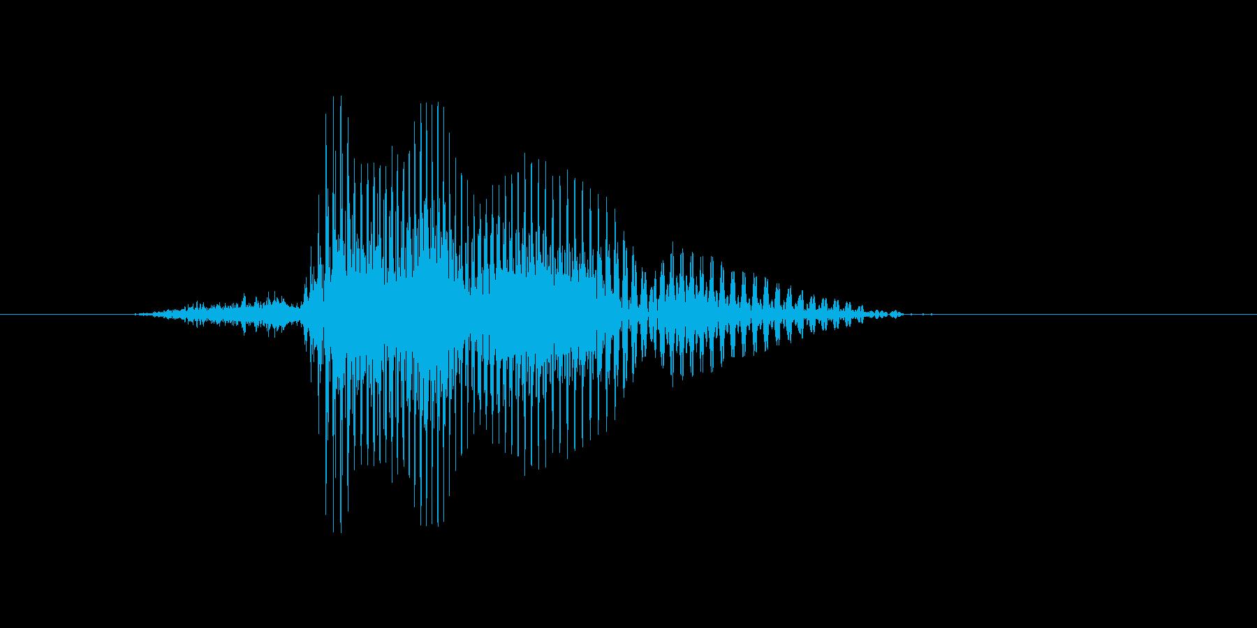 三塁の再生済みの波形