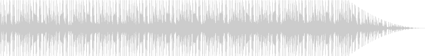 80s シンセサウンドの未再生の波形