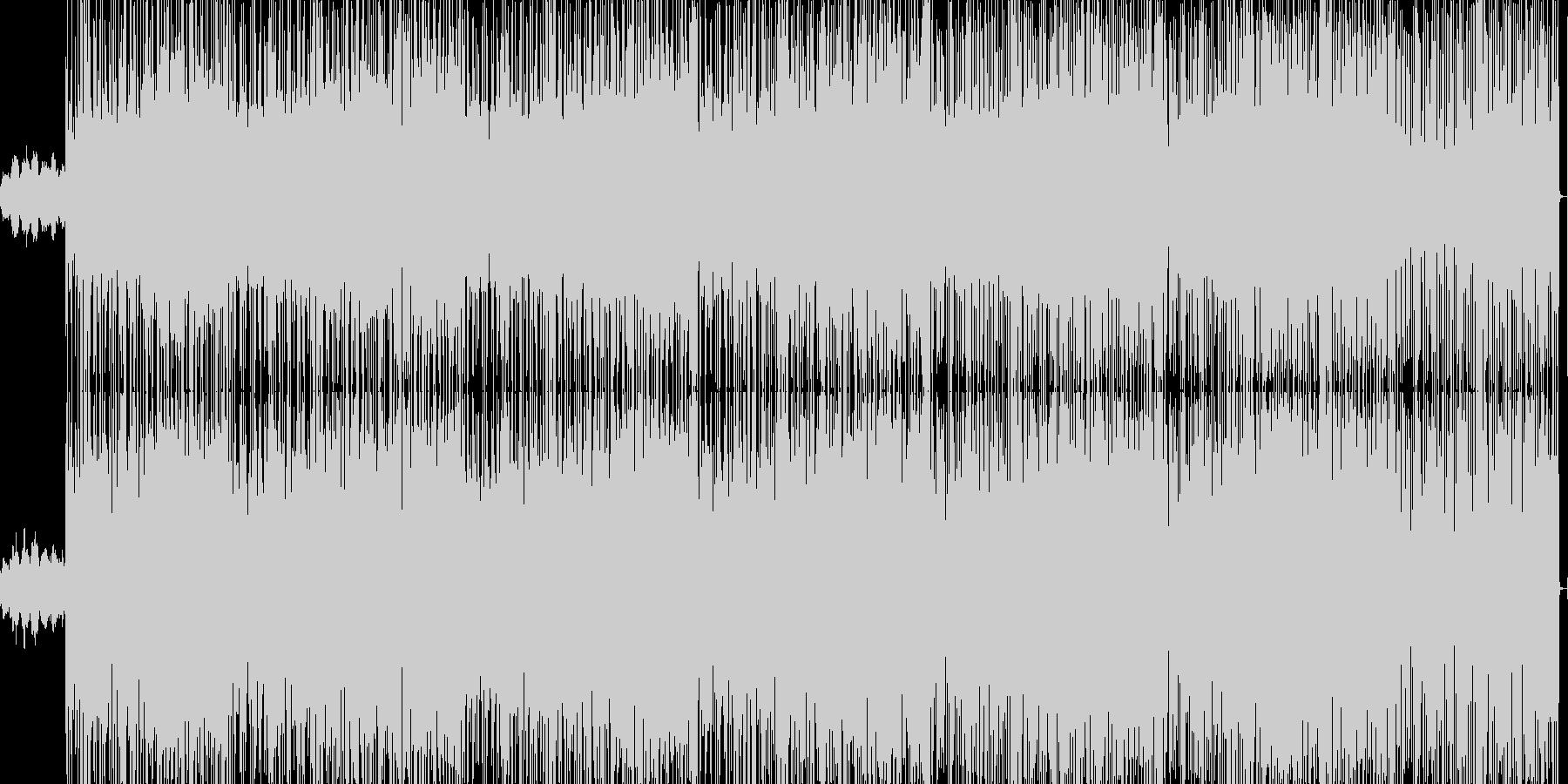 ジャズ系ドラミンベーストラックの未再生の波形