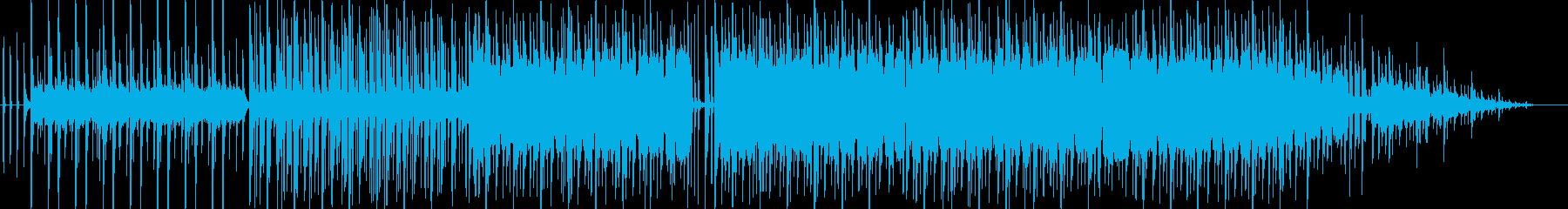 夏の空のLo-Fi Hiphopの再生済みの波形