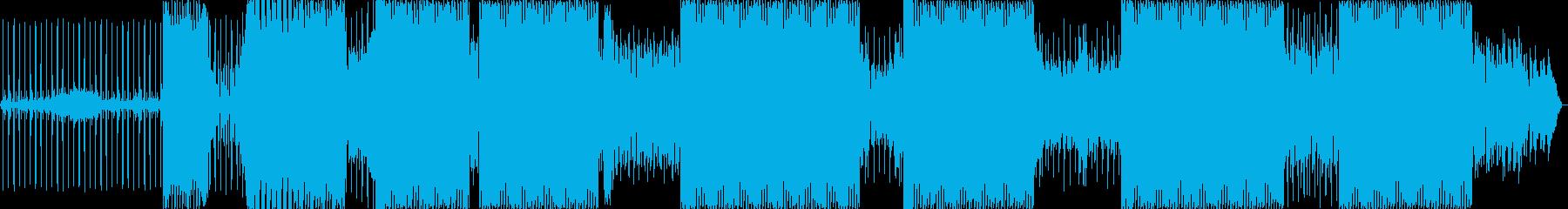 プログレッシブハウス。クラシックハウス。の再生済みの波形