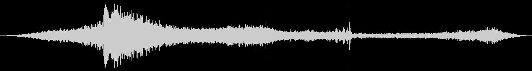 インサイドワゴン0-50の未再生の波形