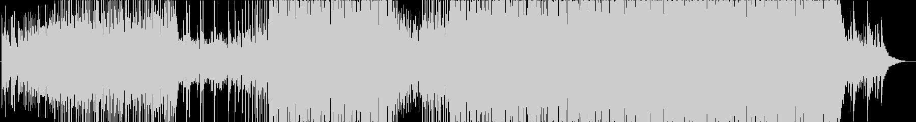 落ち着きのあるテクノポップサウンドの未再生の波形