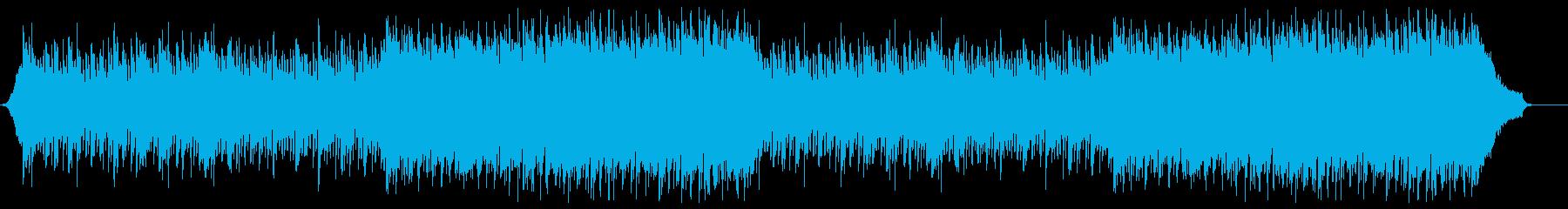 企業VP映像、108オーケストラ、爽快aの再生済みの波形