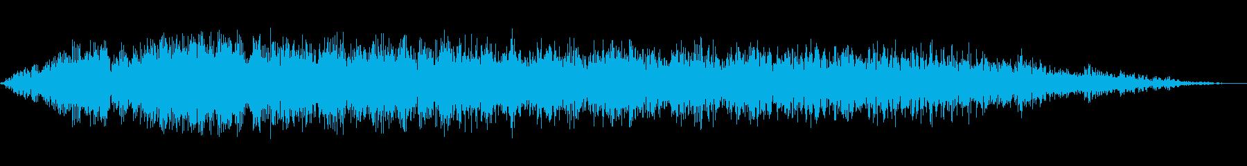 ホローシンセディスソルブ3の再生済みの波形