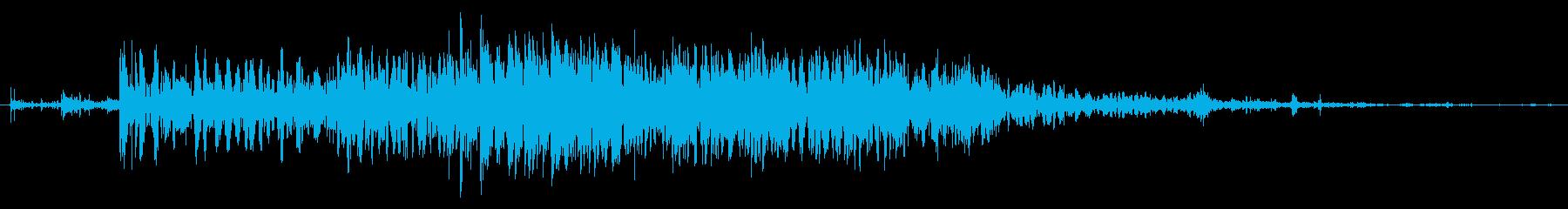 爆発的な流星衝突宇宙爆発の再生済みの波形