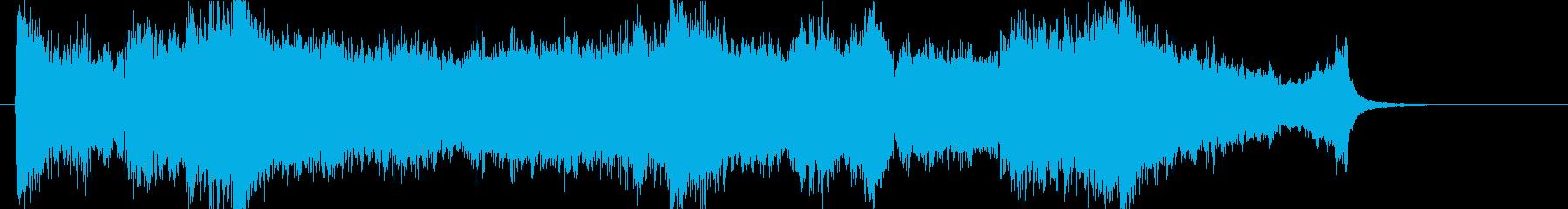 壮大、感動のオーケストラOPハーフcの再生済みの波形