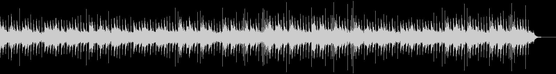 ホラーなピアノBGMの未再生の波形