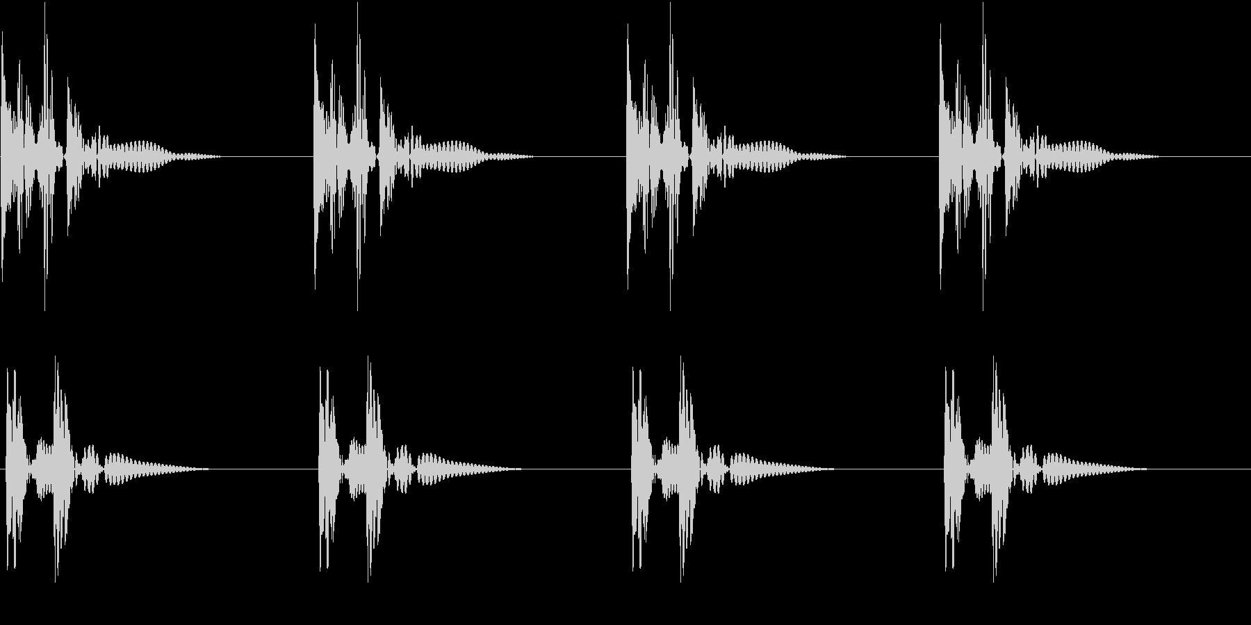 HeartBeat 心臓の音 7 ループの未再生の波形