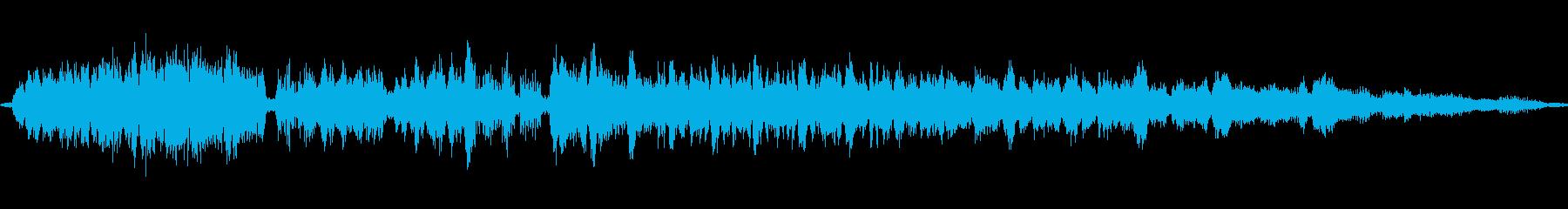マシンフィルムシンクロナイザーが壊...の再生済みの波形
