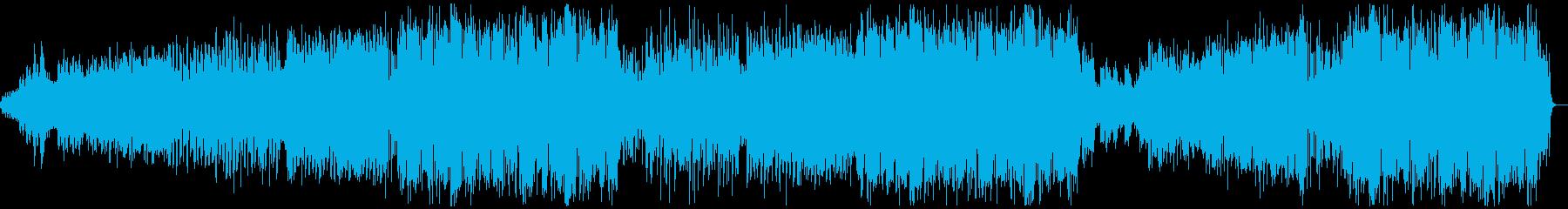 オシャレな英語ボーカルの洋楽風Popの再生済みの波形