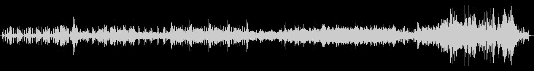 工業騒音で作った曲の未再生の波形