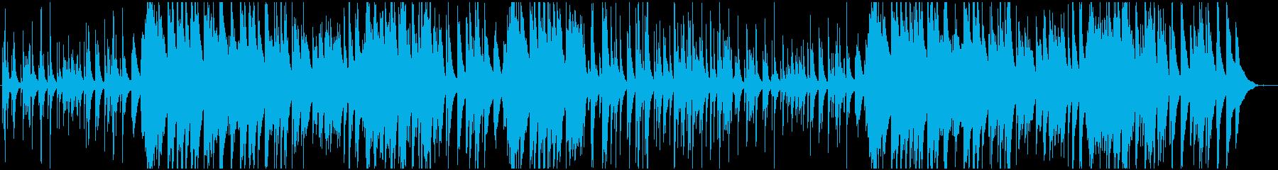 優しい雰囲気のピアノ曲です。の再生済みの波形