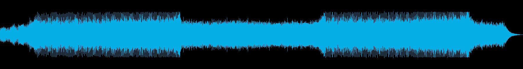 bpm144シンプルで地味なテクノの再生済みの波形