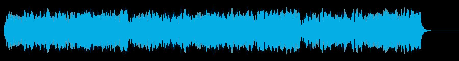 中世王朝の晩餐会的なオルガンバロックの再生済みの波形