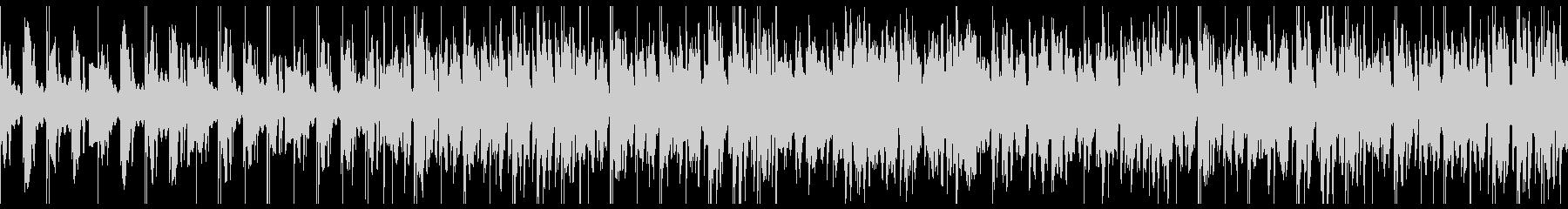 ループ/夜更かしlo-fi曲001の未再生の波形