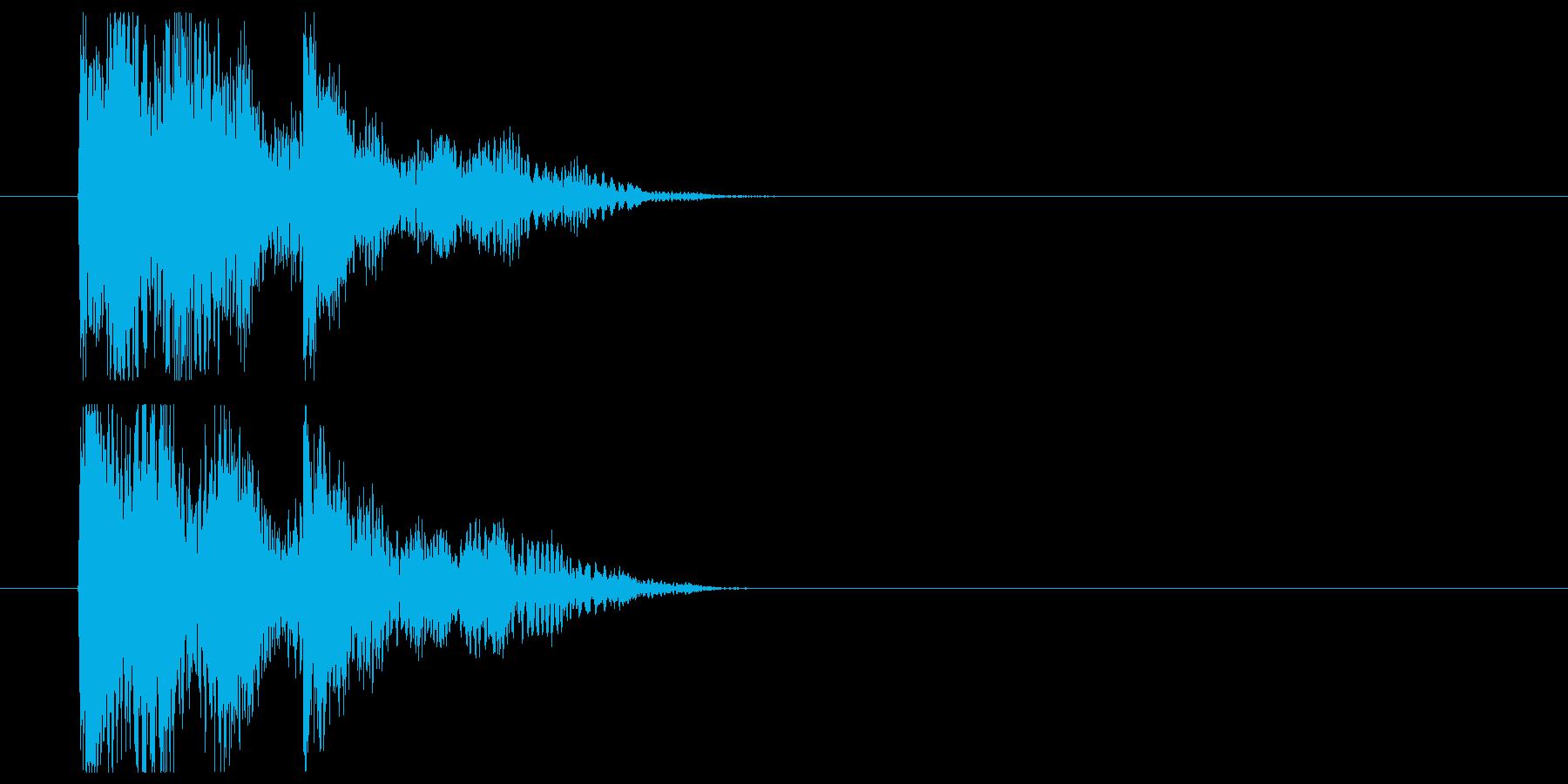 アイテム表示や凡庸な結果時の再生済みの波形