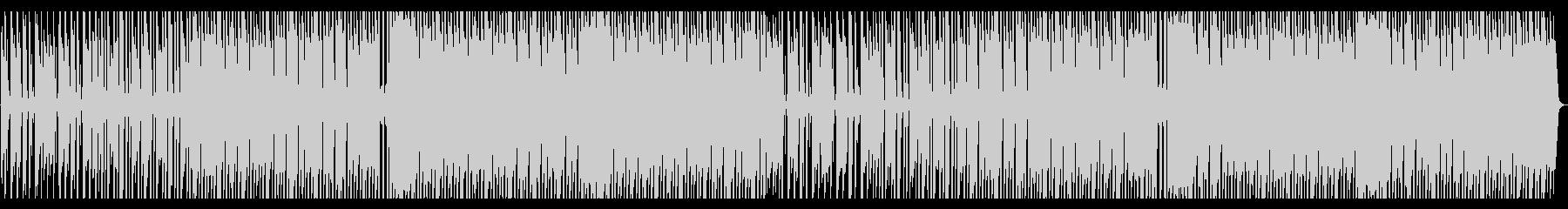 パーカッシブなレトロウェーブの未再生の波形