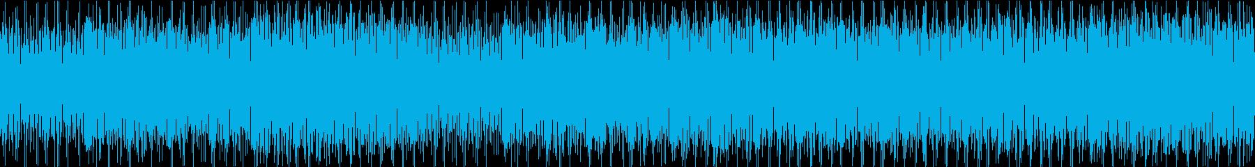 まったり昼下がりの様なおしゃれなボサノバの再生済みの波形