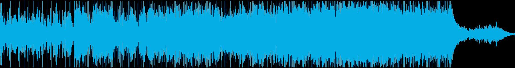 オフビートのドラムグルーブをシャッ...の再生済みの波形